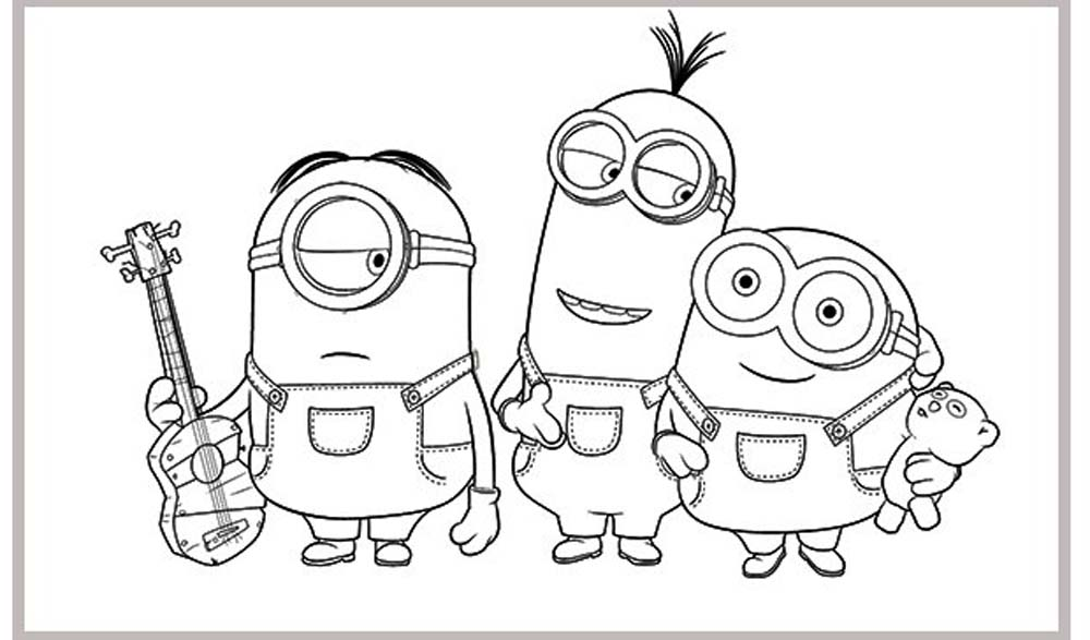 Kevin And Minions Tim