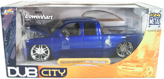 Blue And White Police Car
