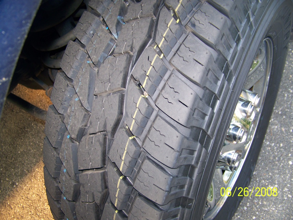 75 Tall How Tire 17 285