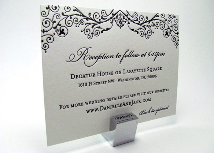 Custom Invitations Washington Dc