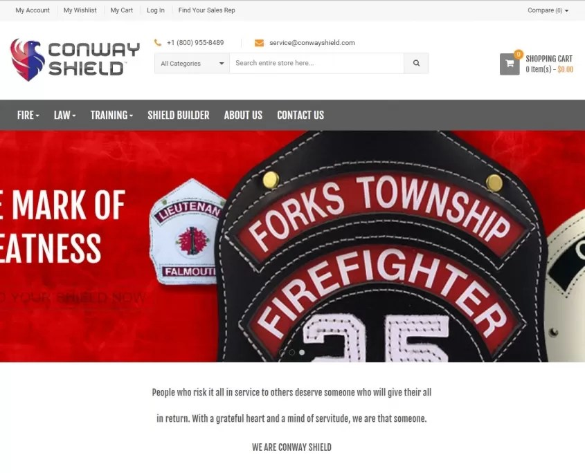 conway shield home page
