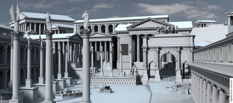 Project - Digitales Forum Romanum