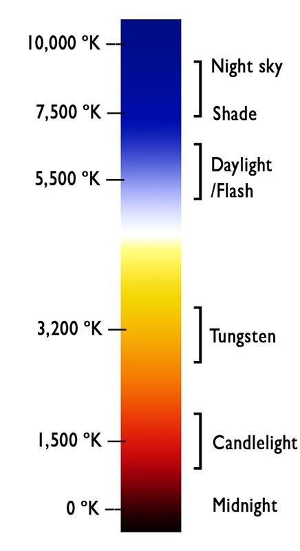 Kelvin Light Scale