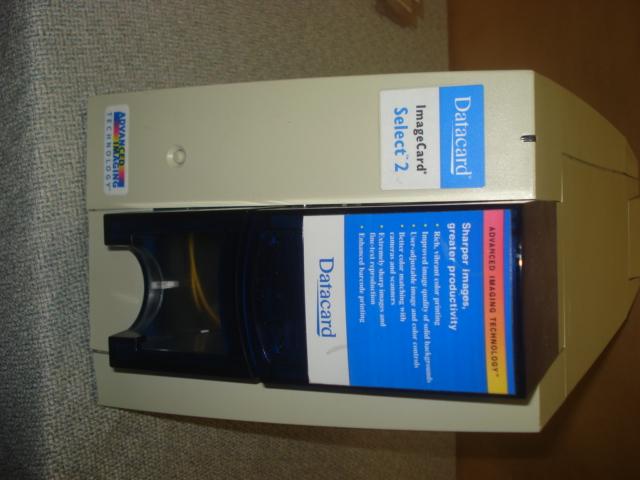For Sale Datacard Imagecard Select 2 Color Id Card Usb