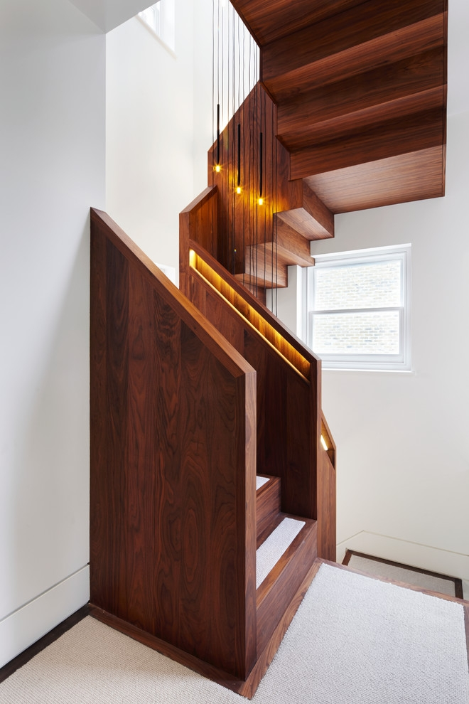 35 Really Cool Space Saving Staircase Designs Digsdigs | Small Stairs For Small Spaces | Design | Small Apartment | Small Living Area | Compact | Tiny House
