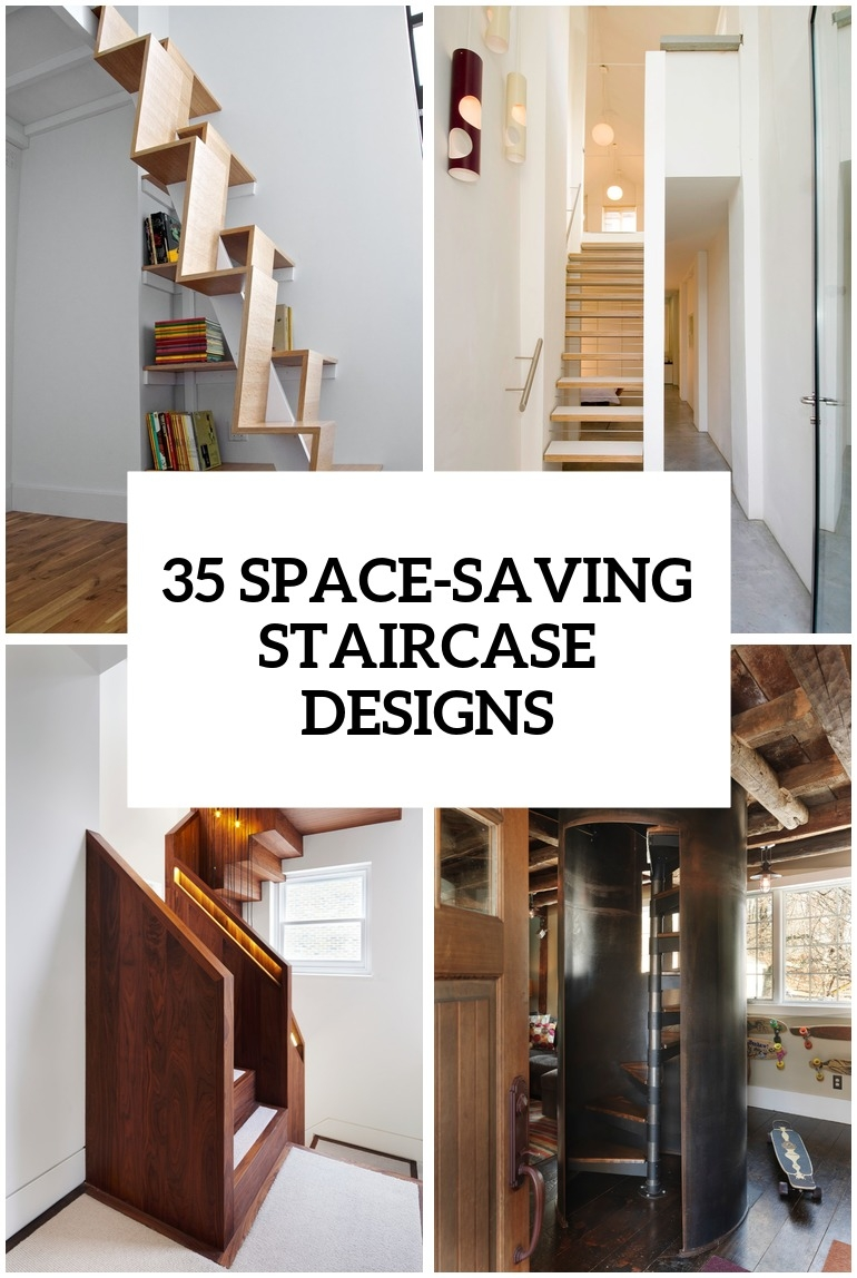 35 Really Cool Space Saving Staircase Designs Digsdigs   Ladder Design For Home   Decor   Space Saving   Room   Tiny House   Italian