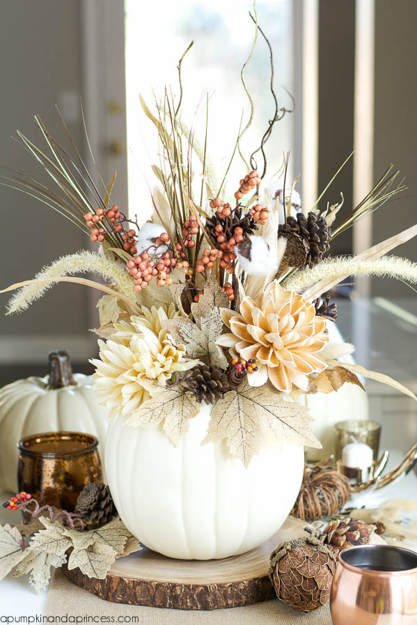 October Wedding Centerpiece Ideas