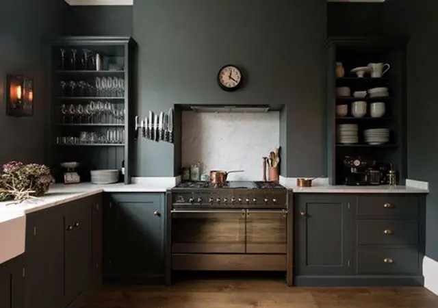 Kitchen Tiles Design Grey