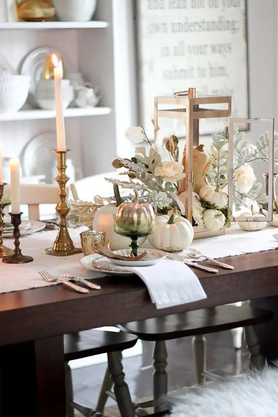 Candle Centerpieces Chargers