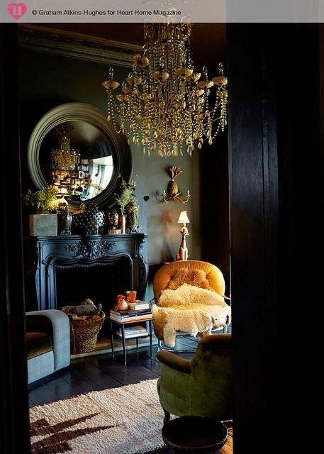 30 Dark Moody Living Room D 233 Cor Ideas Digsdigs