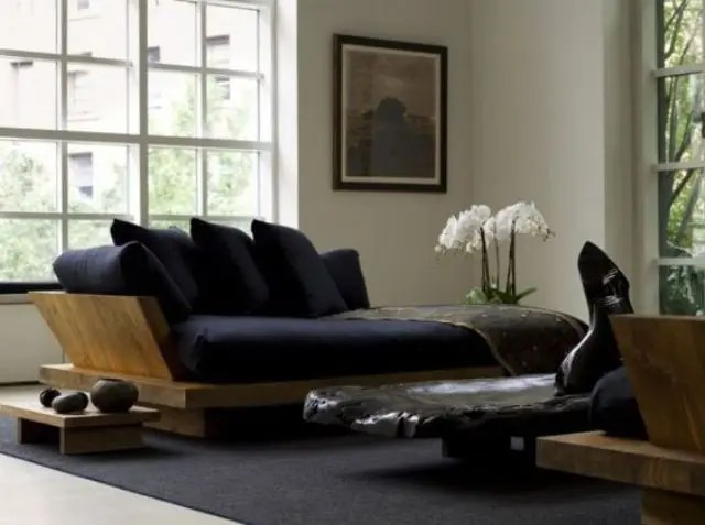 Small Living Room Zen Design