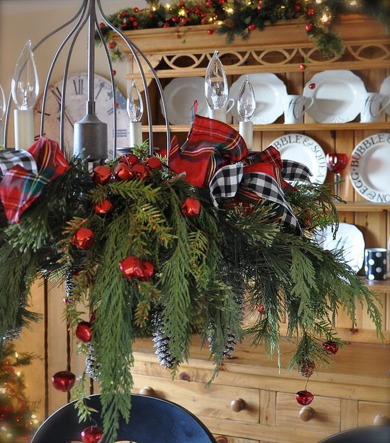 39 Christmas Chandeliers And Chandelier Decor Ideas Digsdigs