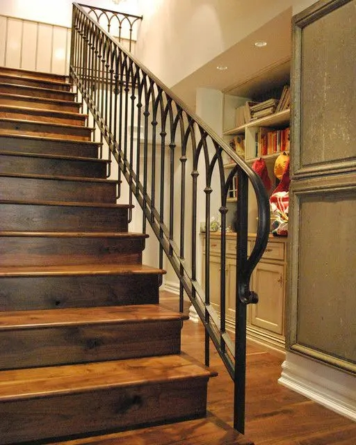 33 Wrought Iron Railing Ideas For Indoors And Outdoors | Adding Wood To Wrought Iron Railing | Cedar | Entryway | Rod Iron | Repair | Process Fabrication