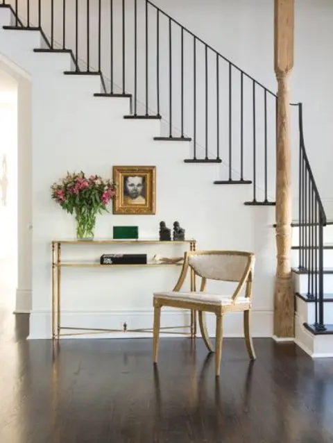 33 Wrought Iron Railing Ideas For Indoors And Outdoors | Wrought Iron Indoor Railing | Steel Frame Wood Deck | Metal | Glass Indoor | Victorian | Traditional
