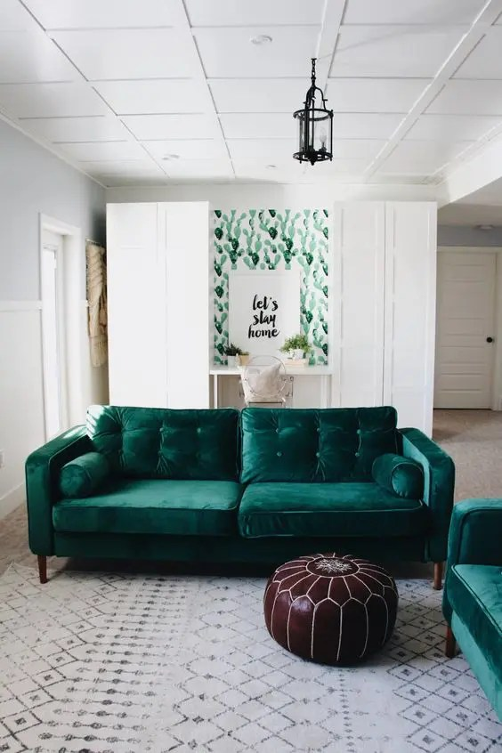 And Ideas Room Green Yellow Living