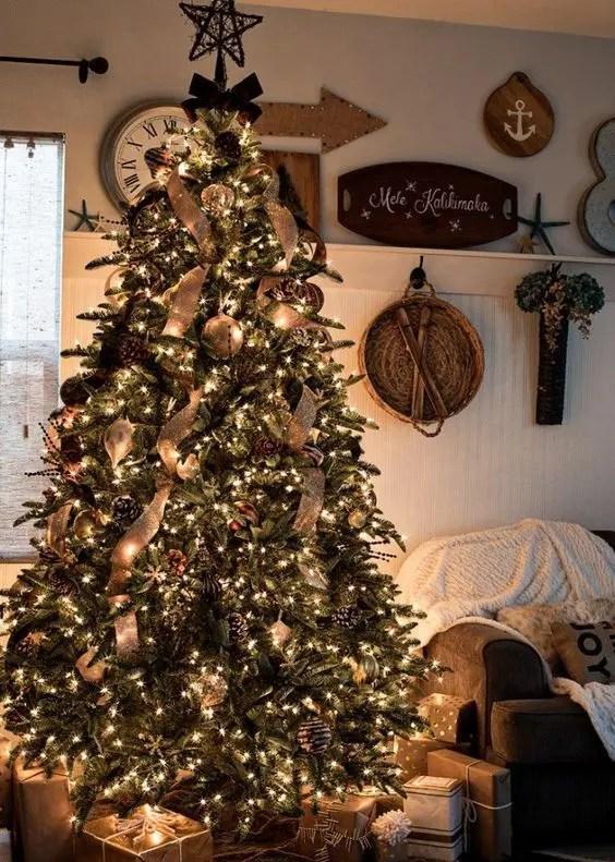 Decorating Christmas Trees Using Metal