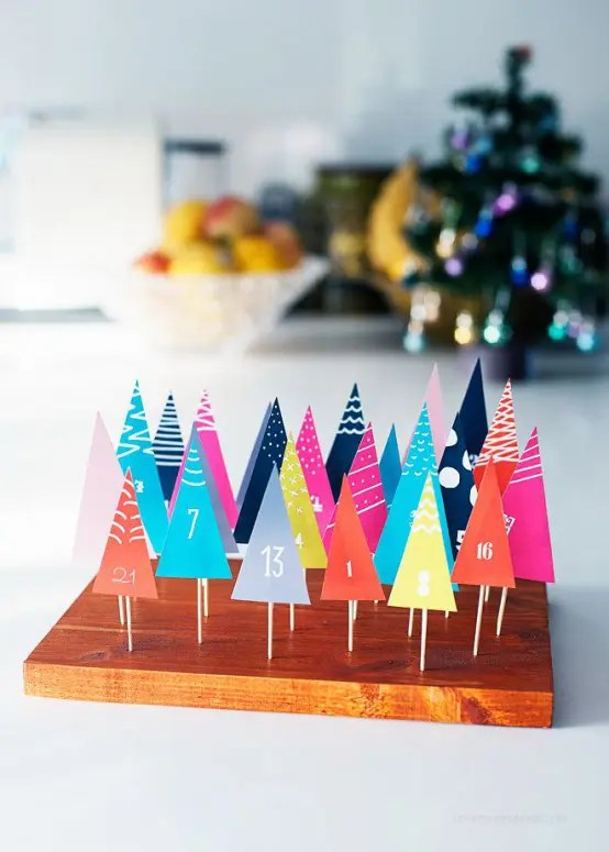 40 Awesome And Creative Christmas Advent Calendars Digsdigs
