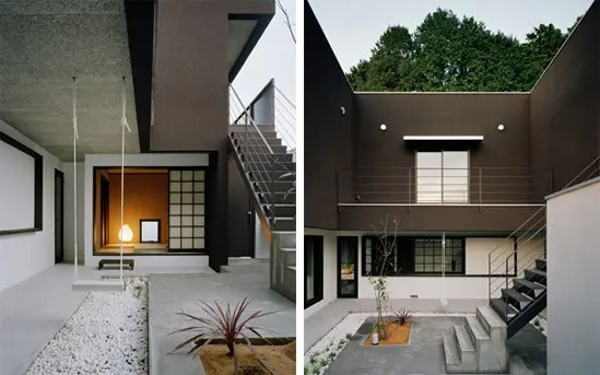 Minimalist Brown House By Kouichi Kimura Digsdigs