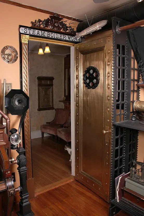 Steampunk Home Decorating Ideas