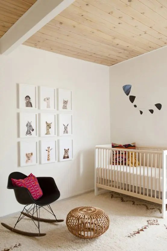 31 Cute Mid Century Modern Kids Rooms D 233 Cor Ideas
