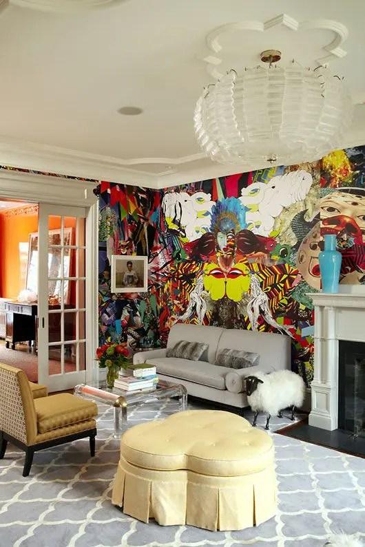26 Daring Graffiti Statement Interior Wall Ideas Digsdigs