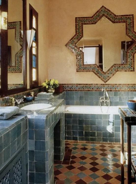 Bathroom Decor Navy Blue