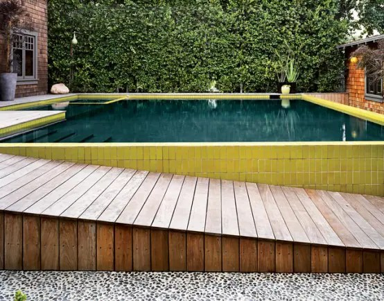 Amazing Lifted Pool Designed In Retro Style Digsdigs