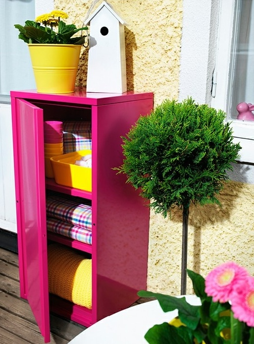 29 Practical Balcony Storage Ideas Digsdigs