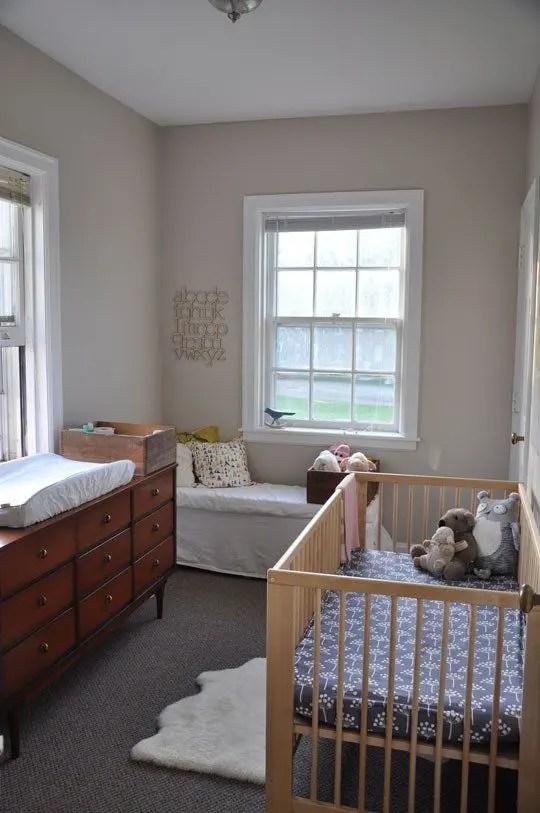23 Practical And Stylish Tiny Nursery D 233 Cor Ideas Digsdigs