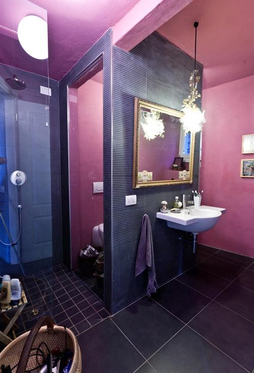 33 Cool Purple Bathroom Design Ideas Digsdigs