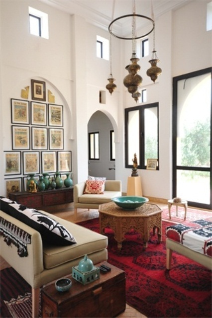51 Relaxing Moroccan Living Rooms Digsdigs