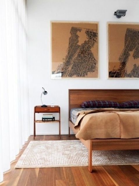28 Simple And Elegant Mid Century Modern Beds Digsdigs