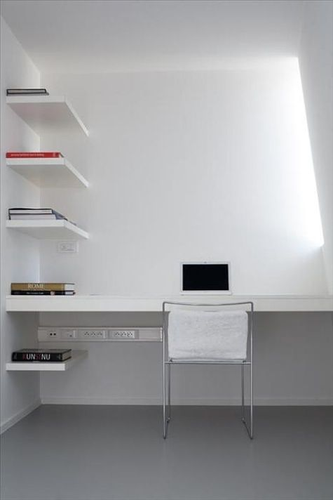 37 Stylish Super Minimalist Home Office Designs Digsdigs