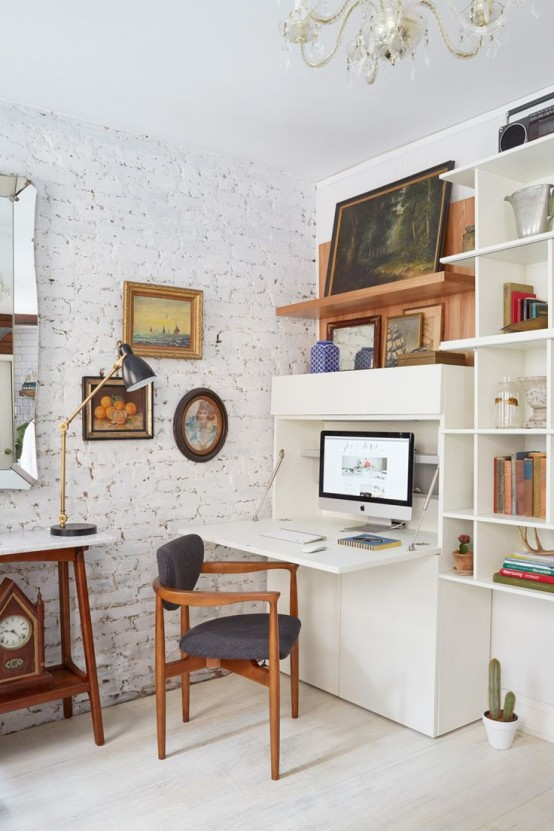 33 Tiny Yet Functional Home Office Designs Digsdigs