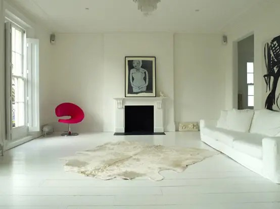 Apartment Decorating White Walls