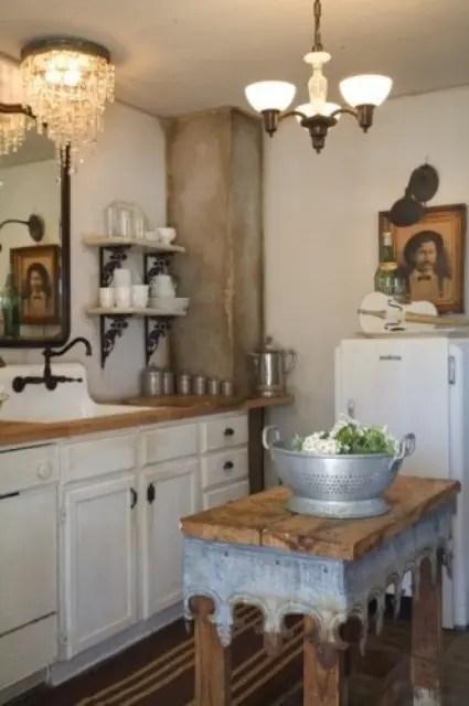 Country Chic Kitchen Designs
