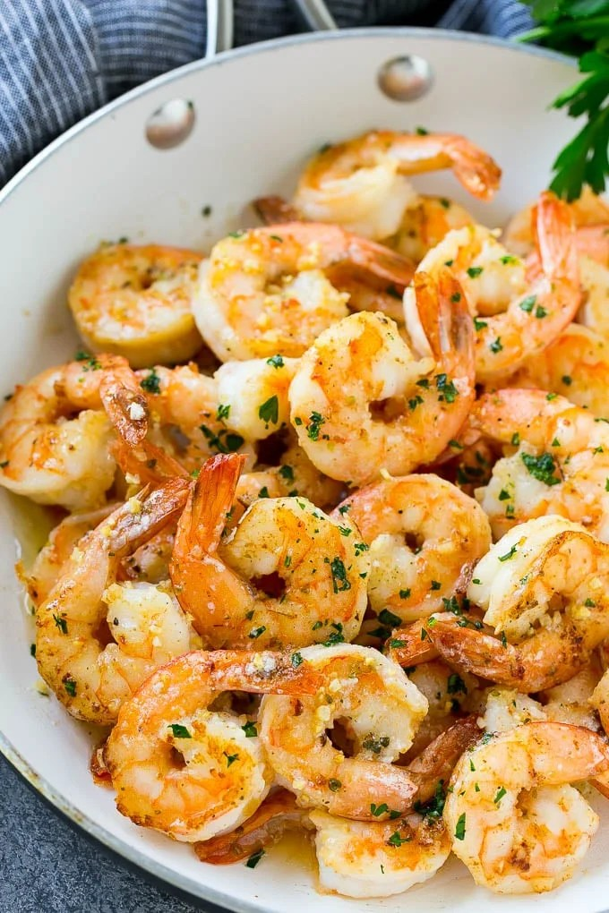 Garlic Butter Shrimp Dinner At The Zoo
