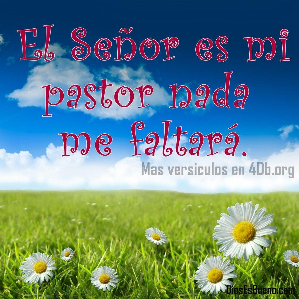 Pastor Nada 23 El Me Mi Es Senor Salmo Faltara