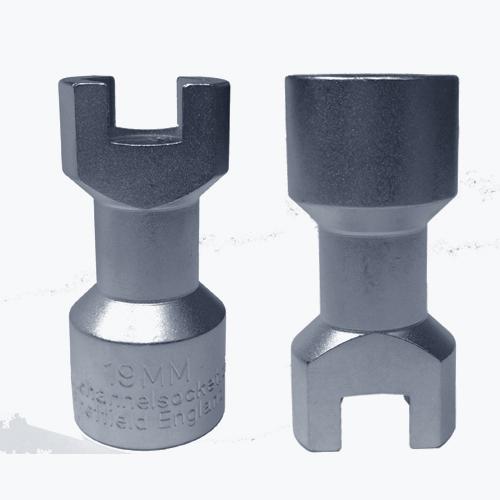 1 2 2 1 Hex X 2 Sockets Socket Drive Head 1