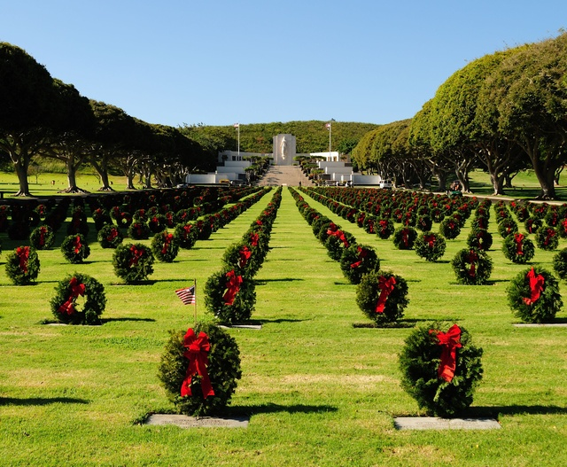 Punch Bowl National Cemetery Oahu