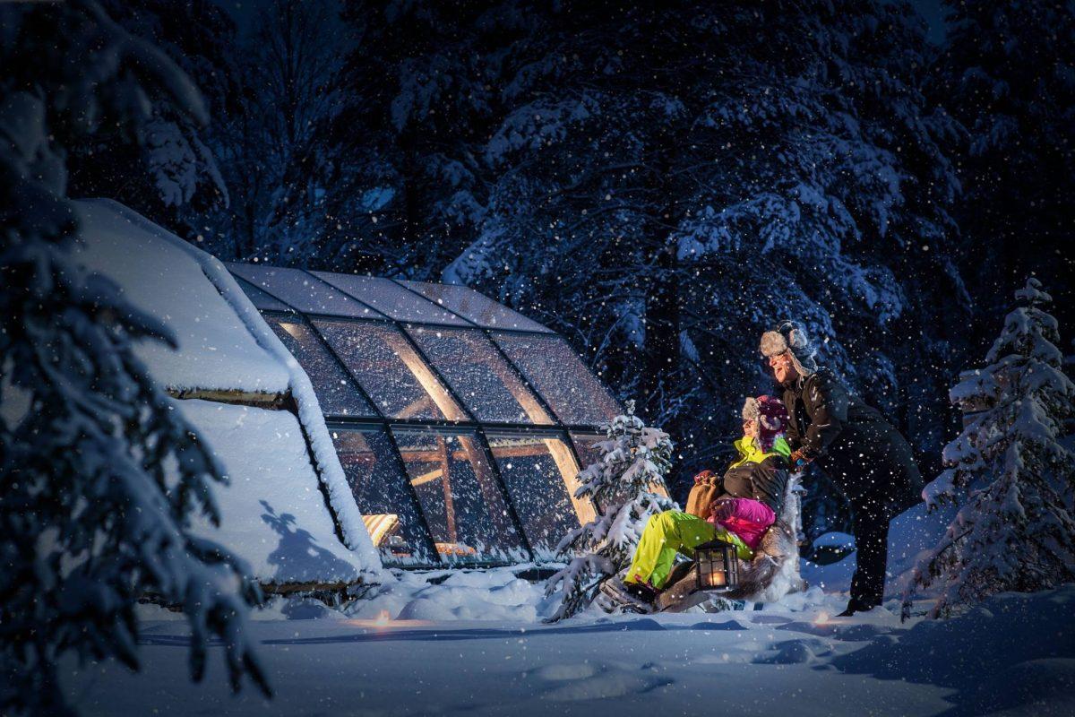 Holidays See Northern Lights