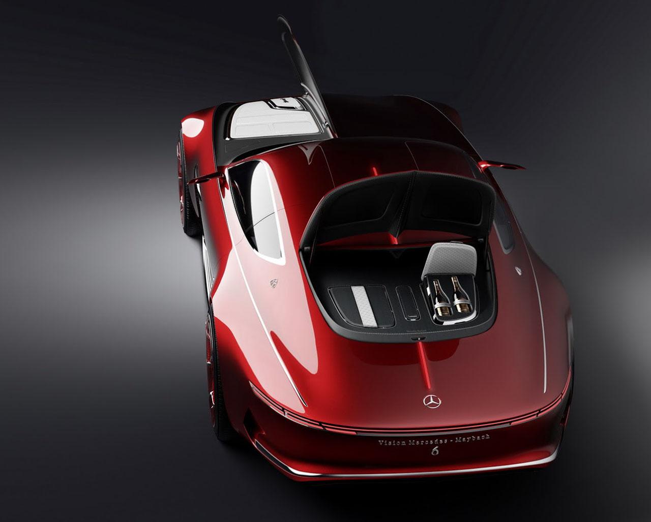 Mercedes Maybach 6 Vision Concept Cars Diseno Art