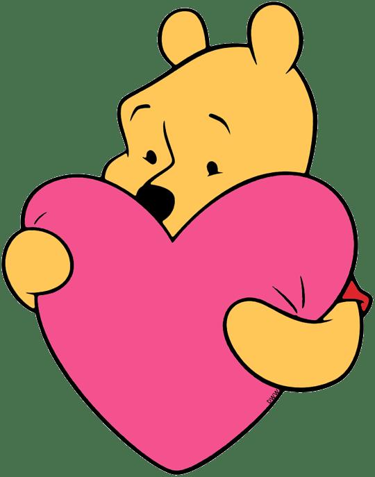disney valentine clip art - 540×687