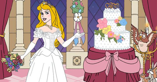 Aurora S Wedding Day Dress Up Game Disney Princess
