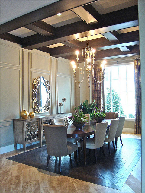 Luxury Kitchen Dining Room