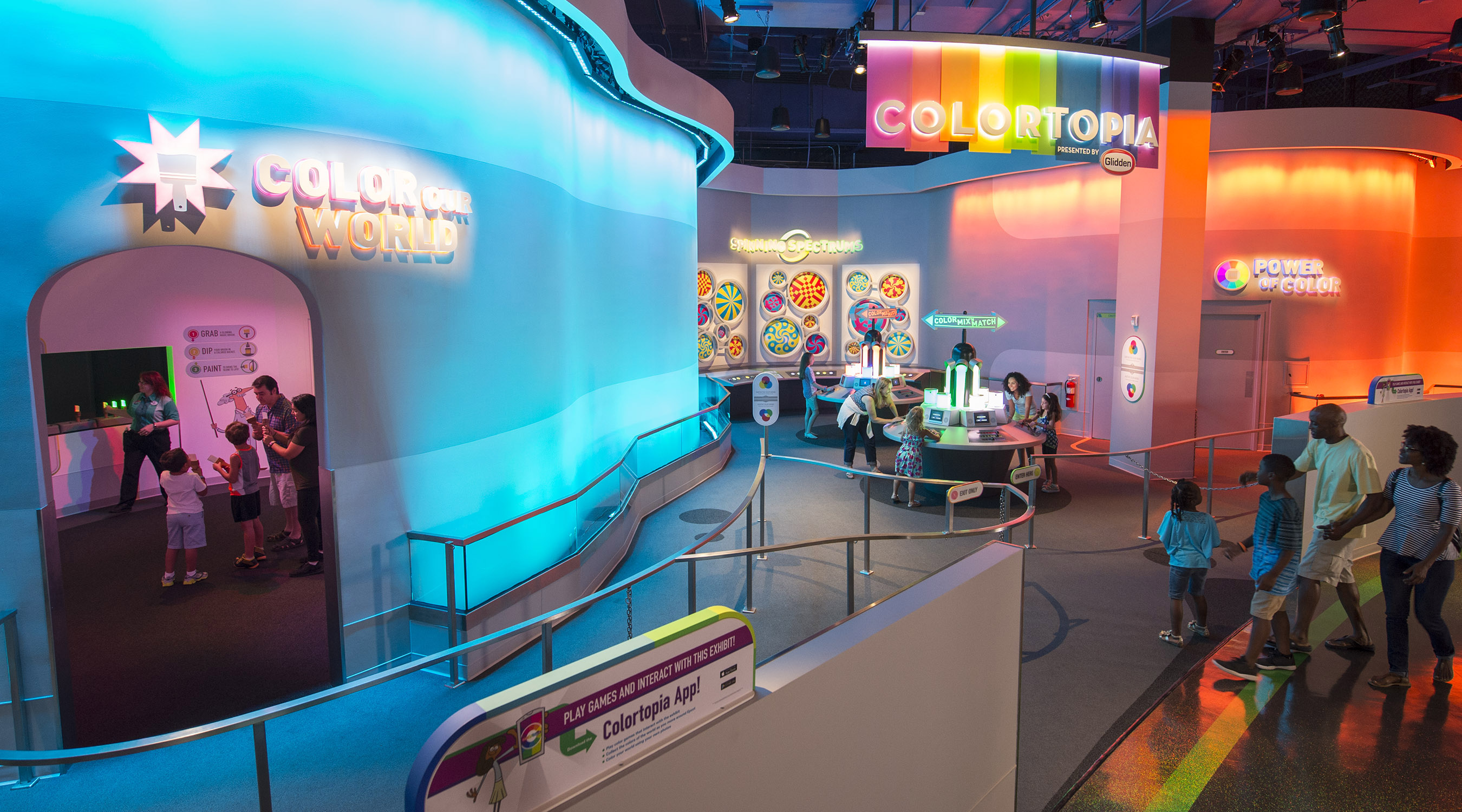 Epcot S Newest Attraction Colortopia In Innoventions