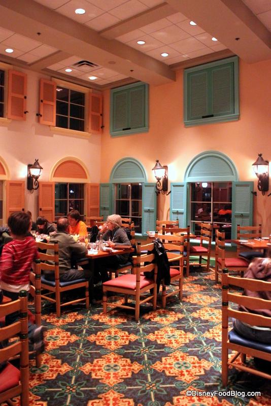 Review Shutters Restaurant At Disney S Caribbean Beach Resort