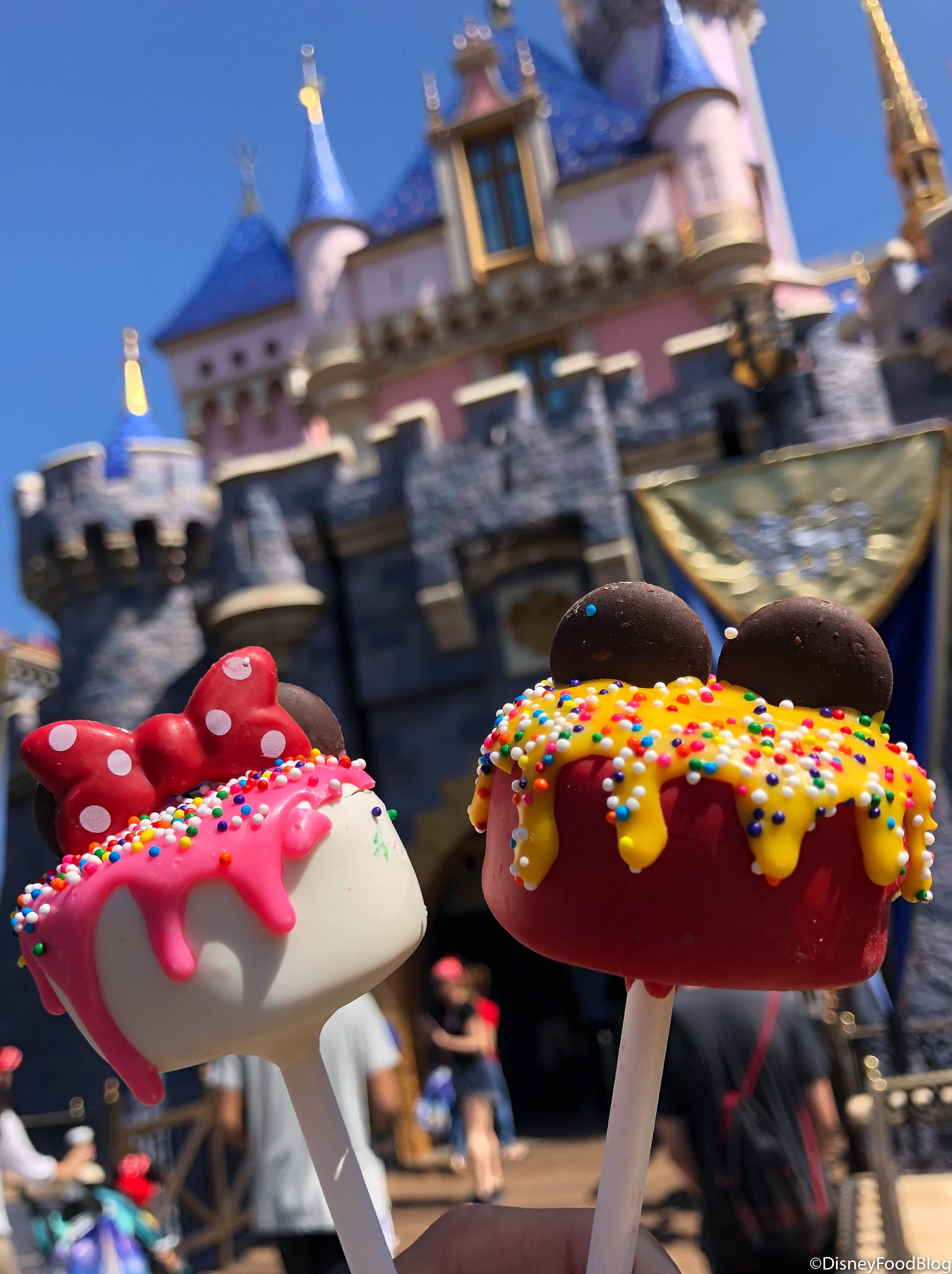 Review Adorable Birthday Cake Pops Debut In Disneyland