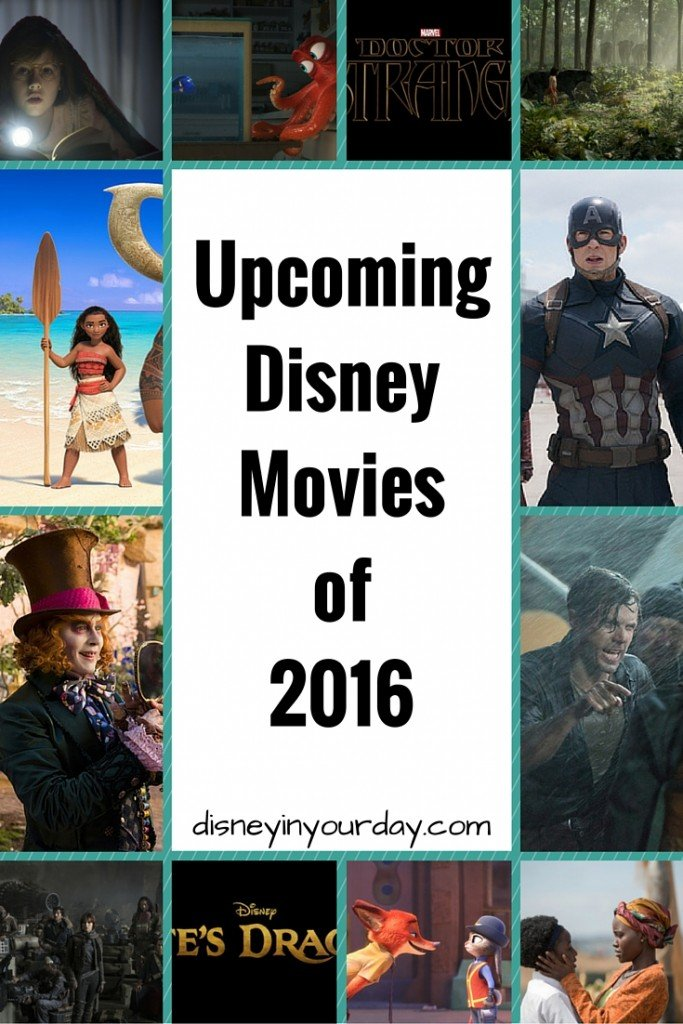 Upcoming Disney movies in 2016 - Disney in your Day