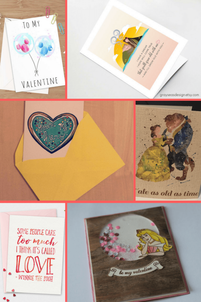 Disney Valentine's Day gifts on Etsy - Disney in your Day